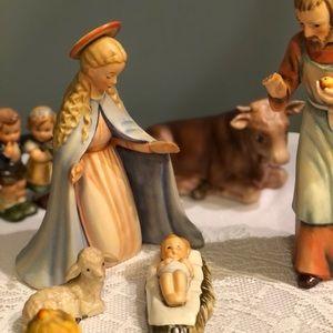 13 Piece Goebel Hummel Nativity Set #214 TMK 5